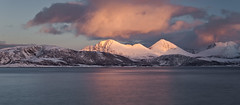 Sommaroy (peterspencer49) Tags: ocean mountain snow norway clouds coast coastline fjord tromso sommaroy oceanveiw 5dmkll peterspencer stunningseascape