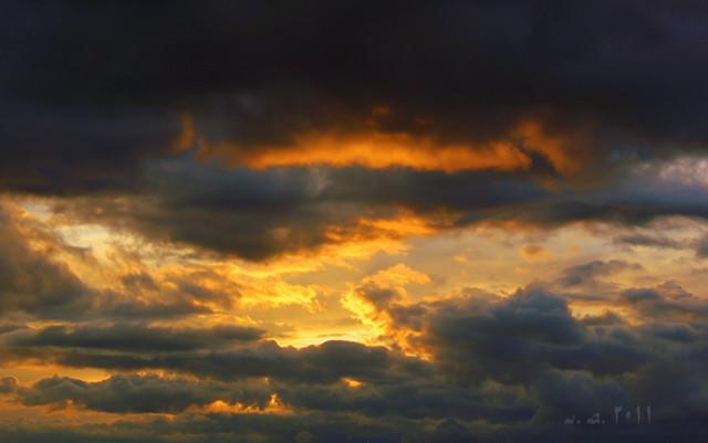 Mar de nubes...