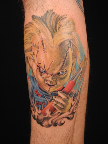 Realistic Coloring Of Chucky: Flickriver: Most Interesting Photos Tagged With Chuckytattoo