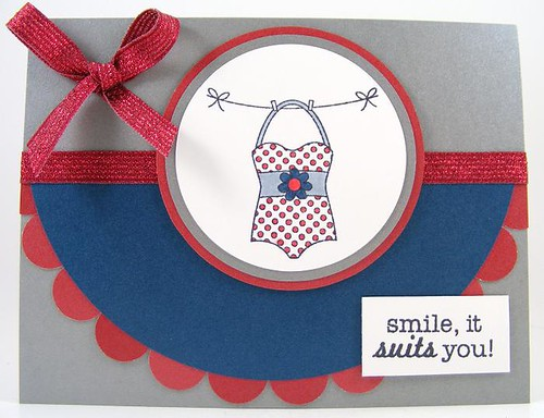 Smiling Suit Card