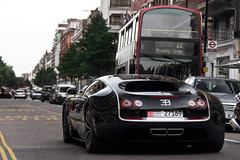 SuperSport. (Alex Penfold) Tags: auto street camera black london cars alex sports car sport mobile canon photography eos photo cool flickr image awesome flash picture super spot harrods knightsbridge exotic photograph arab spotted hyper bugatti supercar spotting  numberplate exotica sportscar sportscars supercars  veyron   supersport penfold sloane   supersports spotter 2011        hypercar 60d    hypercars   alexpenfold