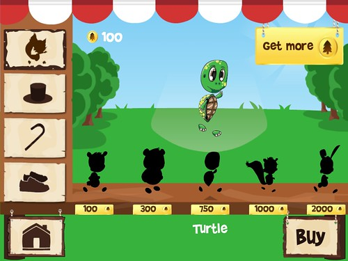 Fun Run - Multiplayer Race Items Store: screenshots, UI