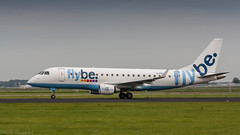 FlyBe E-175 rotating (Nicky Boogaard Photography) Tags: spl17092016 aviation klm surinam airways british airbus boeing bombardier rosenbauer eone tap portugal easyjet firefly schiphol amsterdam a350 singapore airlines 789 787 flybe embrear e175 777 767 icelandair