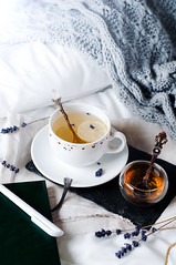 tray with honey and a cup of hot tea in the bed (lyule4ik) Tags: tea relax bed bedding bedroom blanket breakfast cold comfort comfortable comfy cozy cup decor decoration details food home homely hotel lazy life lifestyle linen loft meal modern mood morning mug nobody organic round rustic scandinavian serve soft still sweater top tray waking warm weekend white winter wooden