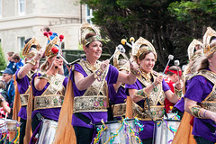 Ryde Carnival IoW (Roger Hanuk) Tags: carnival costume drum drumming england isleofwight musicalinstrument object percussion performing ryde unitedkingdom