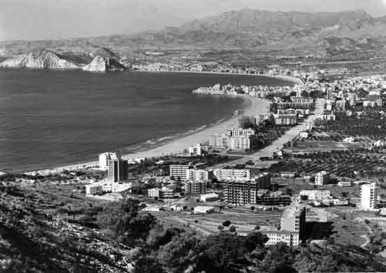 Benidorm en 1960