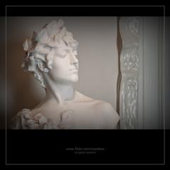 Mirada (morebcn) Tags: barcelona white blanco bust catalunya marble blanc casamil lapedrera marmol marbre busto antonigaud d5000