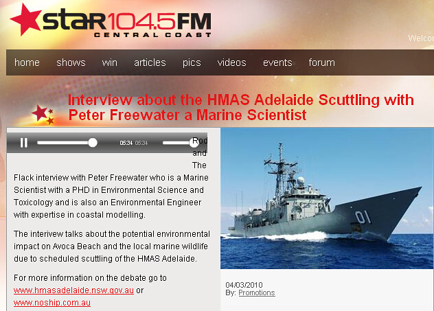 Star FM Dr Peter Freewater Interview