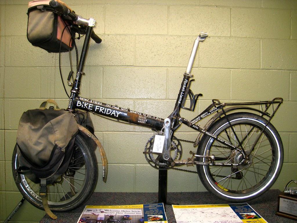 Heinz Stucke S Bike Friday Pocket Llama Bike Forums