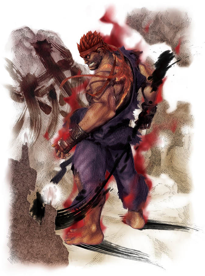 Super Street Fighter IV Evil Ryu