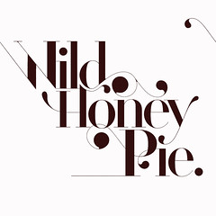 Wild Honey Pie (jeremy pettis) Tags: magazine typography design graphicdesign letters font type lettering missbehave jeremypettis 20082009 wildhoneypie