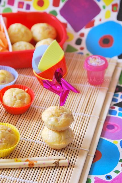 mini muffin salati (bento)