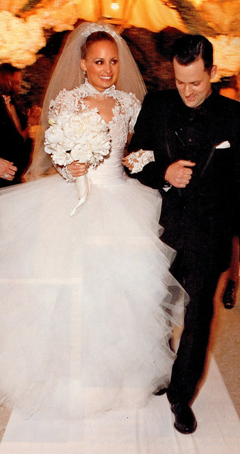 nicole-richie-wedding-dress-marchesa
