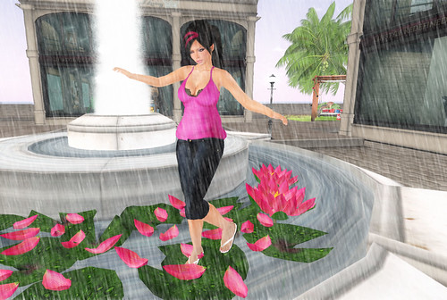 people dancing in the rain. Dancing in the Rain