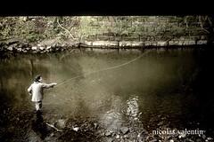 Urban flyfisher .. (Nicolas Valentin) Tags: uk scotland fly fishing glasgow kelvin rod deborah flyfishing mouche hardy greys reel riverkelvin nicolasvalentin alamouche urbanflyfisher