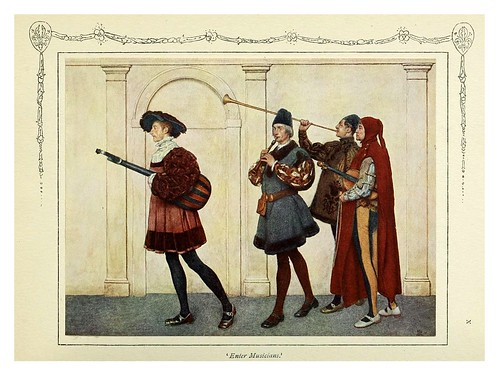 013- Entrada de los musicos-Shakespeare's comedy of the Merchant of Venice 1914- James D. Linton