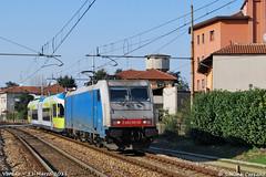 E 483 106 + GTW (Simone arcano) Tags: treno gtw lenord varedo fnm ferrovienord e483 simonecarcano bresciaedolo e483106 monzamoltenolecco