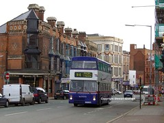 2975 on Constitution Hill (MCW1987) Tags: travel west birmingham mk2 perry barr midlands metrobus twm mcw 2975 wmt mk2a e975vuk