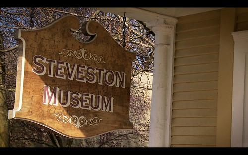 Steveston Museum Sign