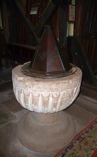 12C Font, Church of St Bartholomew, Vowchurch