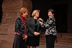Ontario MPPs Andrea Horwath and France Gélinas