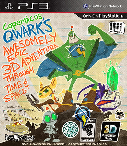 Copernicus Qwark's Awesomely Epic 3D Adventure Through Time & Space for PS3