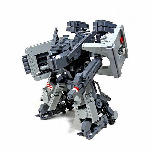LEGO Izzo heavy fire mecha