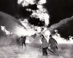 SS Markay Explosion San Pedro,CA Circa 1940s