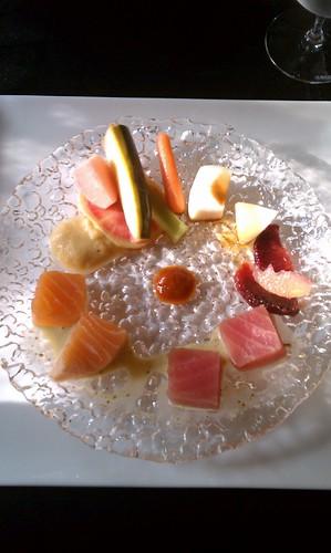 Shashimi Spring Salad by atl10trader