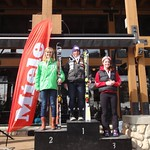 Miele Panorama Spring Series - Ladies Giant Slalom #2 - J1 Podium PHOTO CREDIT: Gregor Druzina