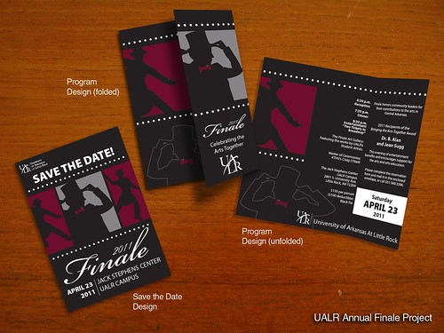 UALR Finale Trifold and Invite