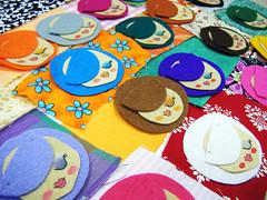 minidollszzz (*elenatillas*) Tags: dolls handmade brooch felt broches fieltro pipop minidolls