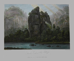 Church Rock in Dove Dale (Enlightenment!) Tags: museum century print etching buxton dale dove 18th watercolour enlightenment dovedale eighteenth
