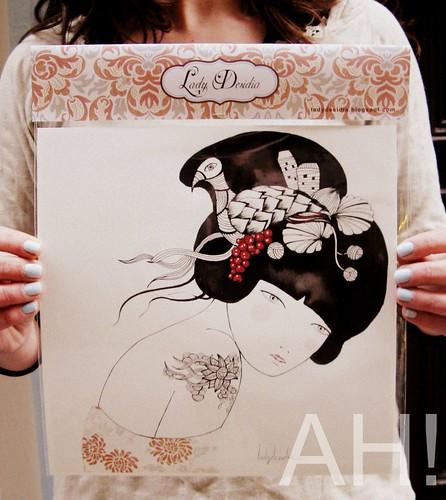 geisha grosellas