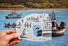 2 - Pencil Vs Camera for Art Official Concept (Ben Heine) Tags: sea people woman men love nature swim comics island photography seaside call play heart artgallery drawing mixedmedia orgasm magic creative goddess coeur appel syndrome desire amour drug series behind mermaid bd slavery aphrodisiac placebo cannabis solution anthropology attraction testosterone hypnotic induction hypnosis elixir imaginative poppers afrique sensation hypnotherapy dsir smallboat substance capeverde transe fifthelement unconsciousness postprocessing libido desse sirne theartistery esclavage hypnose drogue aphrodisiaque exstasy nocebo westernafrica benheine oestrogen exstase susceptibility republicofcapeverde pencilvscamera janejasper artofficialconcept