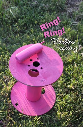 Barbie's calling!