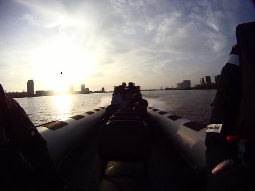 Over de Maas van Rotterdam naar Scheveningen met de nieuwe RING Powercraft - View Rotterdam