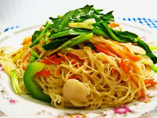 IMG_1867 Vegetarian fried beehoon,素米粉