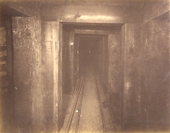 Interior View of Anaconda Copper Mine in Butte, MT (University of Idaho Digital Initiatives) Tags: usa montana butte mt mines burke minnig digitalcollections coppermining 19thcenturyphotographs idaholibrary