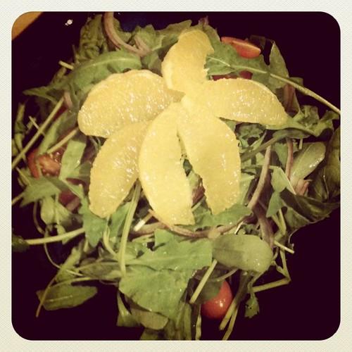 My rocket salad!