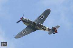 G-BWUE - 223 - The Real Aeroplane Company - Hispano HA.1112-M1L Buchon - 090712 - Duxford - Steven Gray - IMG_1464
