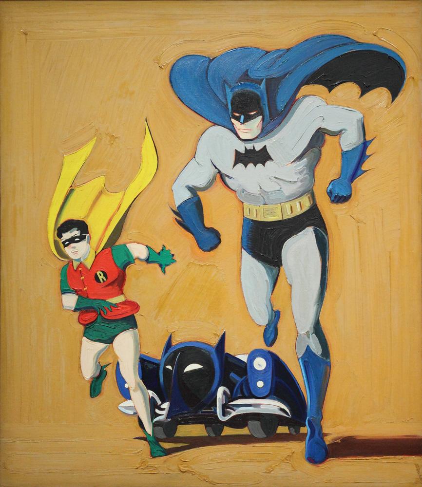 Mel Ramos, Batmobile, 1962