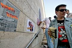 Yarps (dprezat) Tags: street urban streetart art collage marilyn painting stencil tag graf peinture aerosol bombe puteaux pochoir bangbang yarps sonyalpha700 ruestick