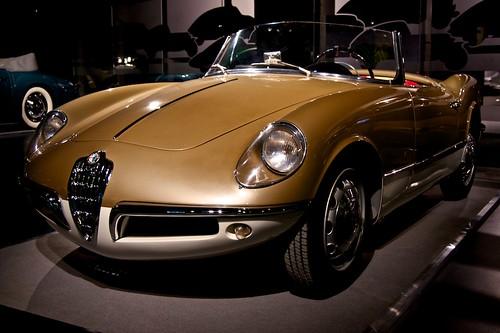 1955 Alfa Romeo Giulietta Spider. Alfa Romeo Giulietta Spider 1955 prototype by Bertone
