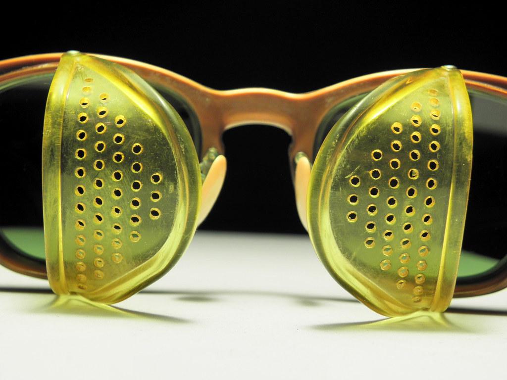 14352b14263 AO FX9500 Brown Gold 4 (jmg opticks) Tags  hot art sunglasses vintage
