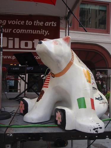 Italian art bear