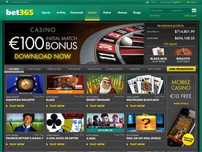 Bet365 Casino Home
