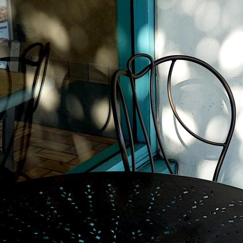 dappled dining