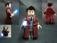 The Tenth Doctor (billbobful) Tags: light david lego who sonic led doctor screwdriver tennant tenth