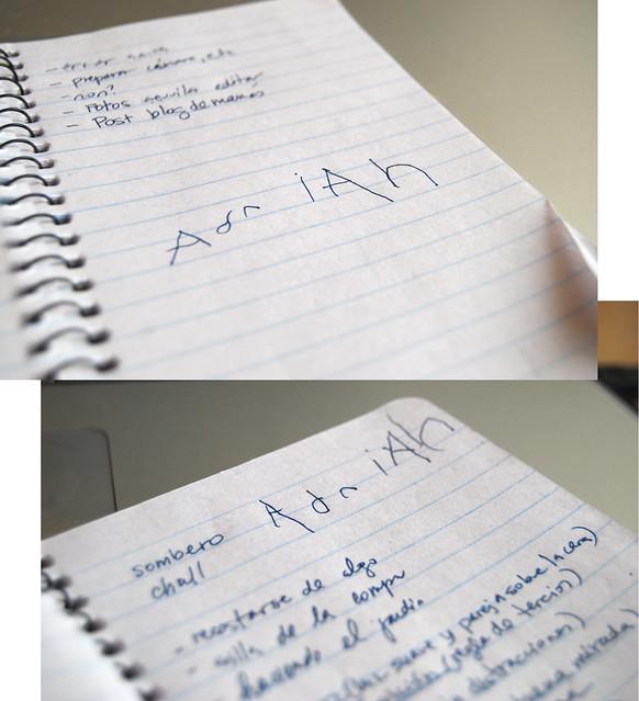 Adrian writes